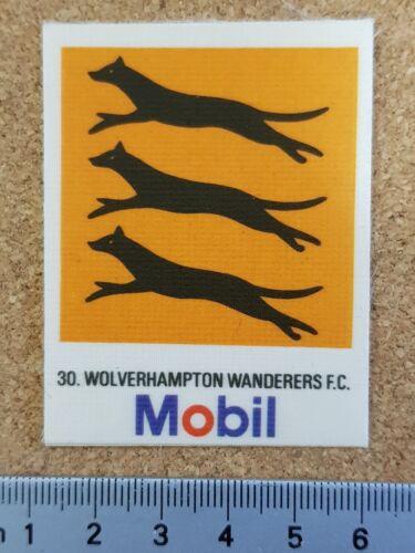 Various Teams Mobil Oil 1983 Silk Material Football Club Crest Badges