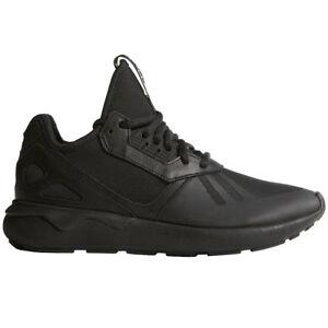 df3f85aff02abe Das Bild wird geladen adidas-Originals-Tubular-Runner-Sneaker-schwarz -Herren-Damen-