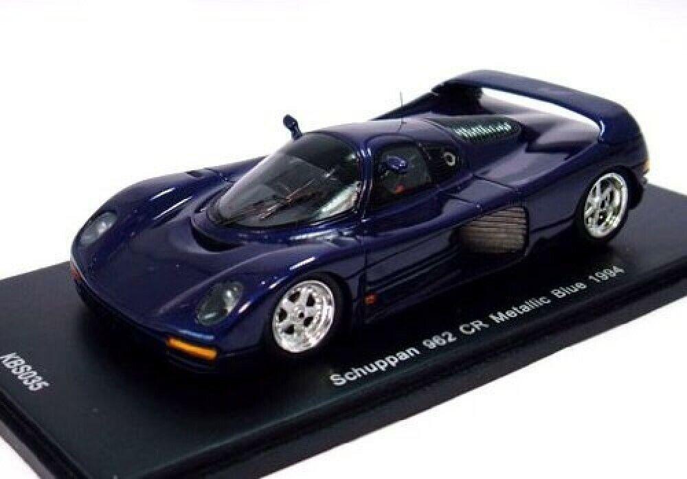 Nouveau SPARK 1 43 Schuppan PORSCHE 962 CR 1994 bleu métallisé KBS035 from Japan F S