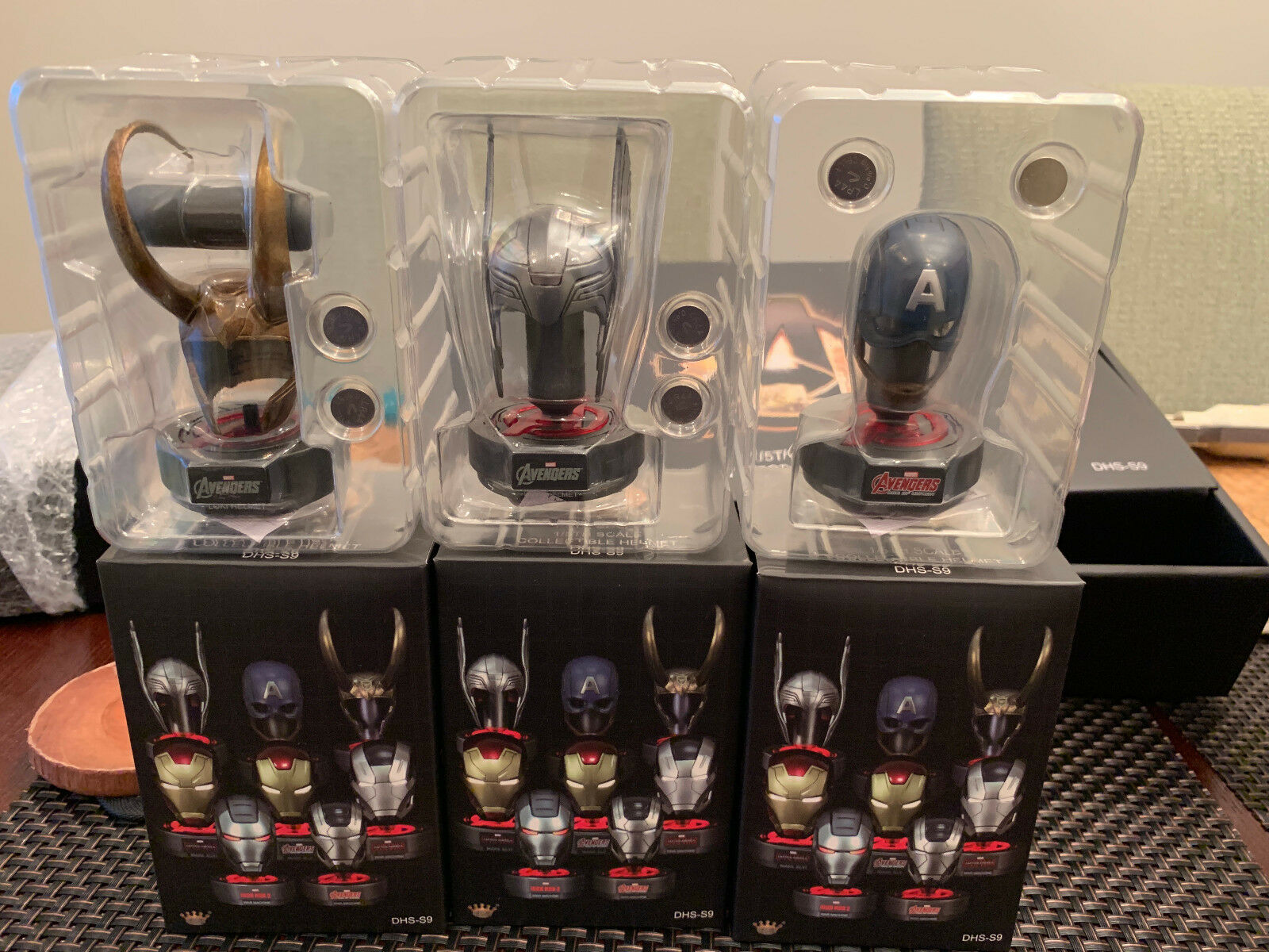 King King King Arts Toy Iron Man Avengers Helmet Collection 45e7d7