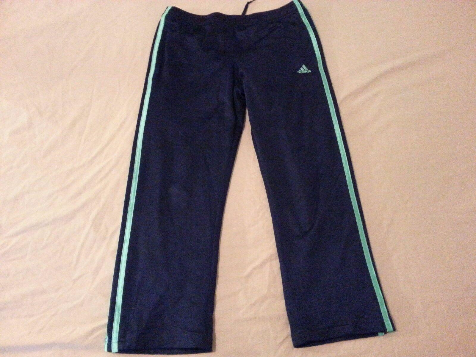 Pantalon adidas Femme Capri S Small Bleu Marine Athletic