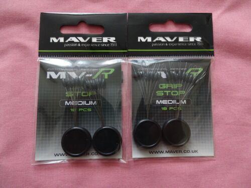 2 x packets of Maver MV-R grip stops medium size