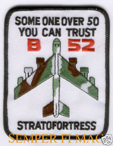 B-52 Cold War Hat Patch