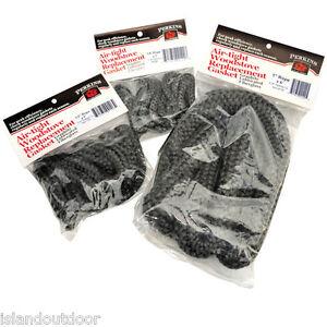 Perkins Fiberglass Wood Stove Rope Gasket graphite high temp tape ...