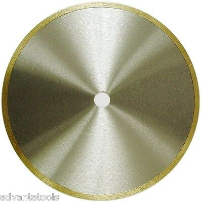 "10"" x .032/"" Supreme Sintered Ultra Thin Continuous Rim Diamond Lapidary Blade"
