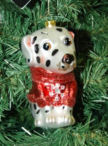 Dalmatian Dog Christmas Ornament