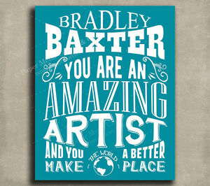 Artist-Amazing-Custom-Plaque-Tin-Sign-Gift-For-Art-Teacher-Designer-Curator-P