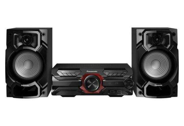 Panasonic SC-AKX320E-K Megasound Hi-Fi Système 450W Bluetooth CD USB Fm Lecteur