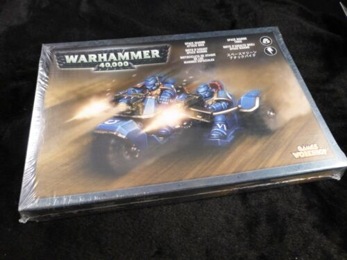 40K Space marines attack Bike Scellé Boxed Set