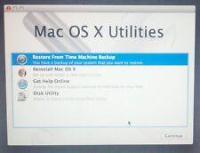 Apple Mac OSX 10.7 Lion Installation DVD