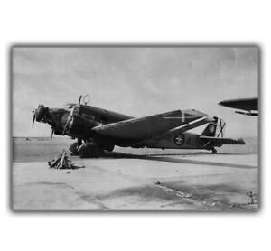 War-photo-WW2-Junkers-Ju-52-Germany-Photos-Wehrmacht-Size-034-4-x-6-034-inch-J