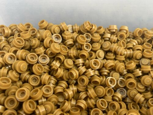 50 Pieces Per Order LEGO 4073-1x1 Gold Round Pin Studs