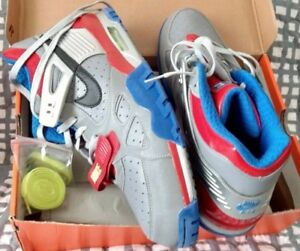 timeless design 420be e72a5 Image is loading NIKE-x-Transformers-Optimus-Prime-Air-Trainer-III-