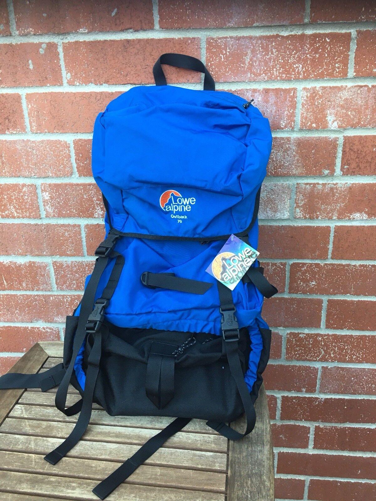 Lowe Alpine Outback 70 Internal Frame Hiking Camping Boy Scout Trekking Backpack