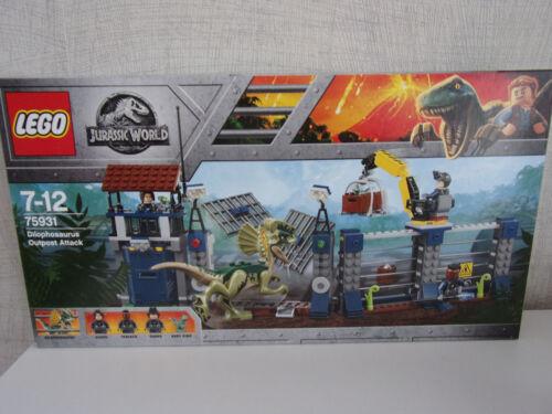 Nip Lego Jurassic World 75931 Attack Des Dilophosaurus