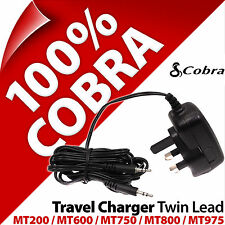Cobra Mains / Travel Charger Twin lead UK Plug for Microtalk MT975 MT800 600 200