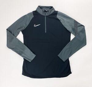 Nike Shield Training Soccer Futbol 1//2 Zip LS Rain Jacket Youth M Black AJ9278