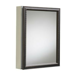 Mirrored Medicine Cabinet Wall Mount