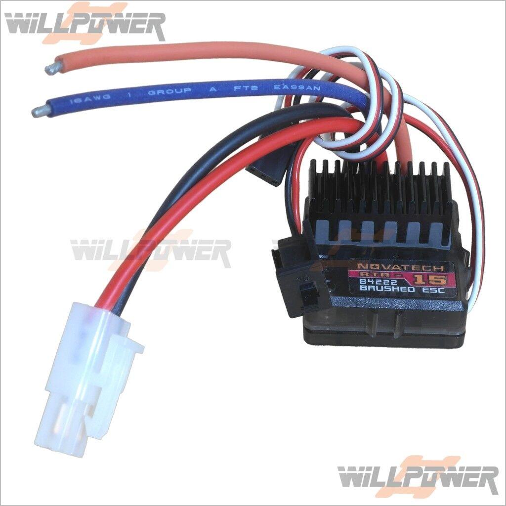 NOVATECH RTR15 Brushed ESC  B4222  RC-WillPower