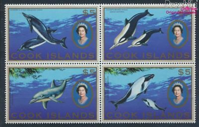 Cook Islands (1965-now) Stamps Methodical Cookinseln 1599-1602 Block Of Four Mnh 2007 Animals Of Südpazifiks 8610149