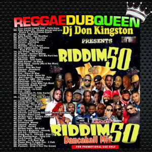 Details about DJ Don Kingston - Riddim 50 Dancehall Mixtape  Reggae Mix CD   May 2019