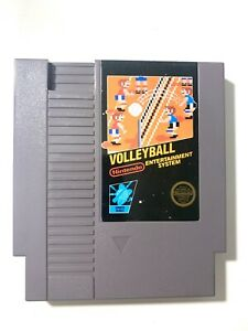 Volleyball-Original-Nintendo-NES-Game-Cartridge-Tested-WORKING-Authentic