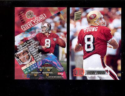 new products f9f44 843ba 1994 SC Stadium Club STEVE YOUNG San Francisco 49ers Throwbacks Card   eBay