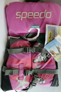 Speedo Infant US Coast Guard Approved Nylon Life Jacket ...