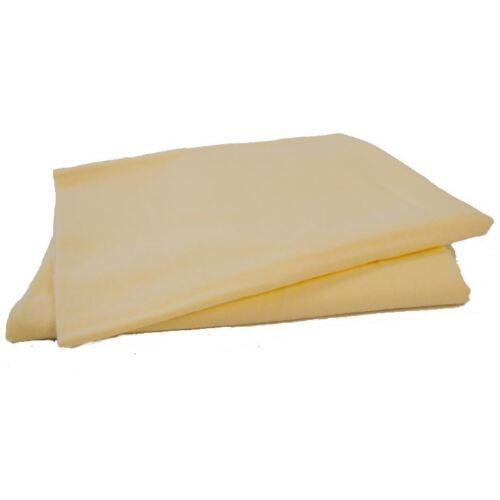 2 x 100/% coton flanelle plat landau feuilles citron 70 x90cm moïse lit bébé maillot
