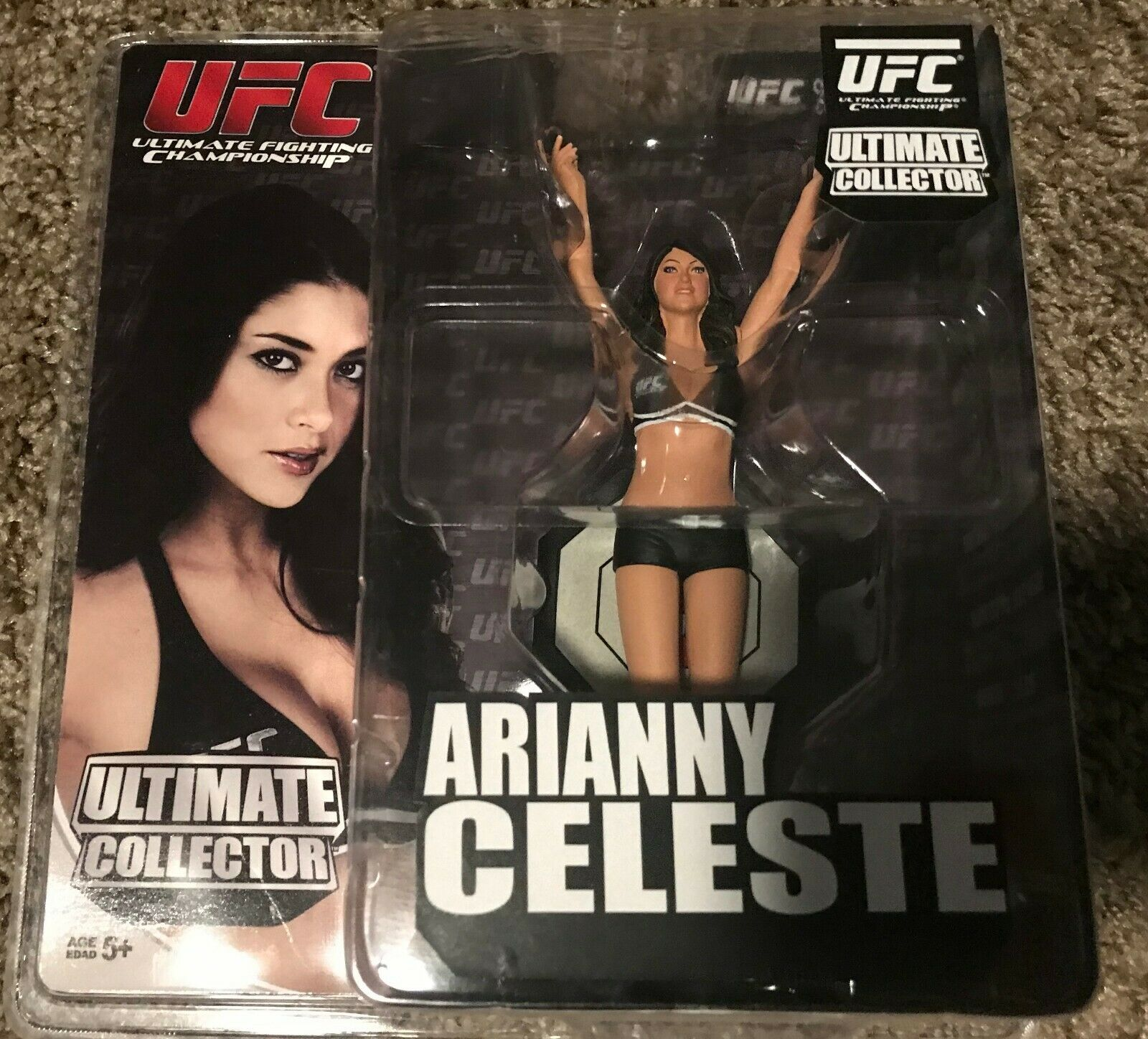 New Round 5 UFC ARIANNY CELESTE Limited Edition -- Mint Condition - Rare