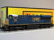 MTH RAILKING CSX ES44AC IMPERIAL DIESEL ENGINE PROTO 3 o gauge train 30-4233-1 E