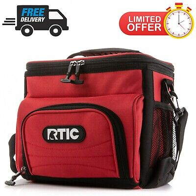 RTICDay Cooler8 CanNew Lunchbox Soft Pack 24 Hours ColdRed