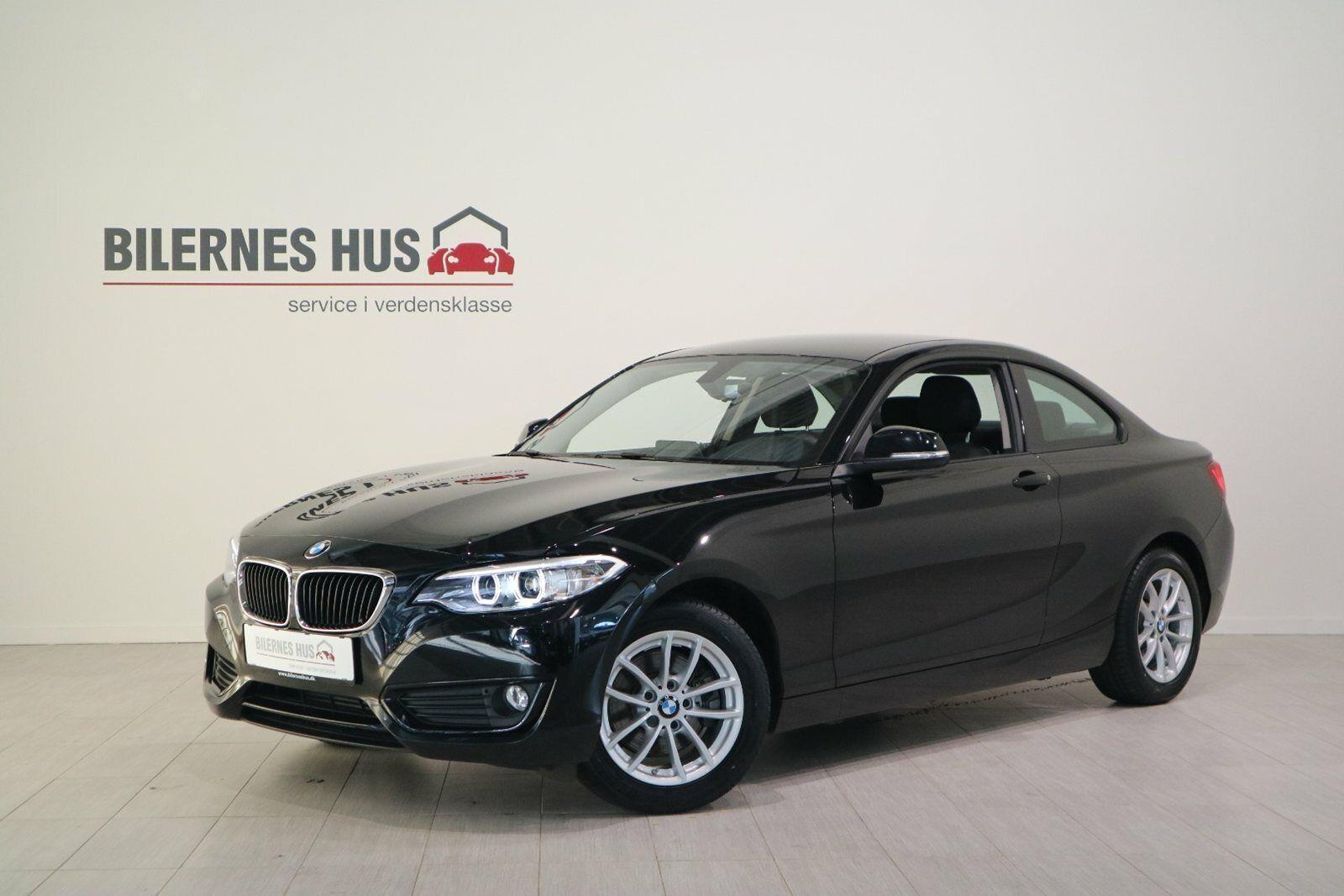 BMW 220d 2,0 Coupé aut. 2d