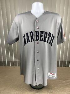 newest b531e 1c69e Details about Narberth # 19 Wilson Sz Medium Button Shirt Jersey Cal Ripken  Babe Ruth Baseball