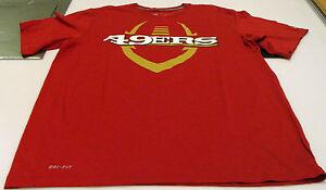 San Francisco 49ers Legend Icon Performance T-Shirt Black Dri Fit ... 6d87d1ba6