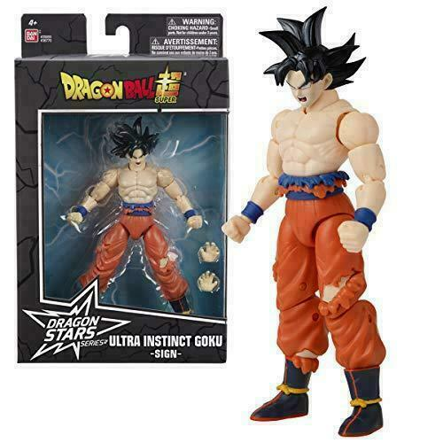 Bandai Dragon Ball Super Stars Series 15 Instinct Sign Goku Action Figure