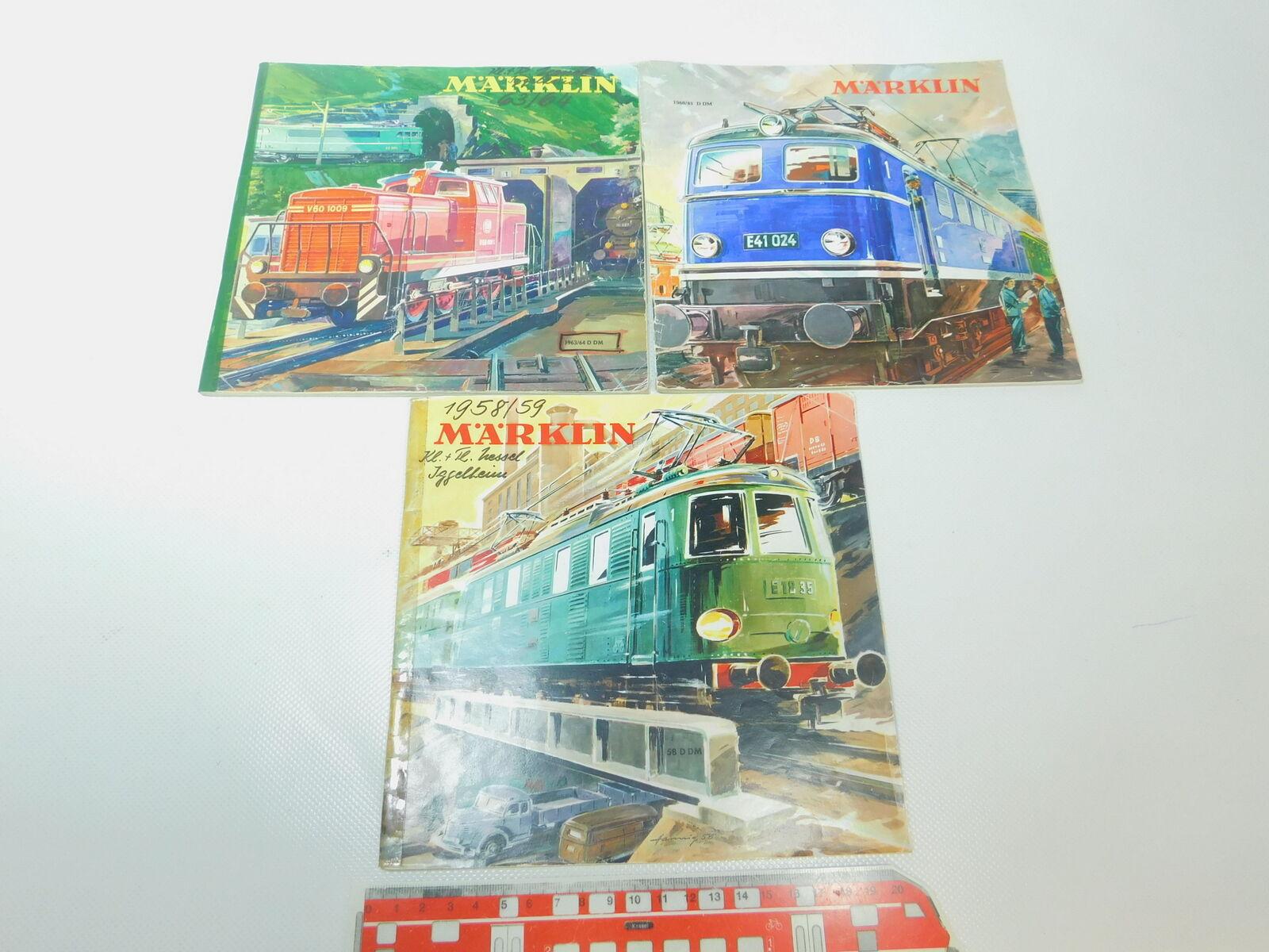 BP421-1   3 x   Catalogo: 58 D Dm + 1960/61 D Dm + 1963/64 D Dm , 2. Wahl