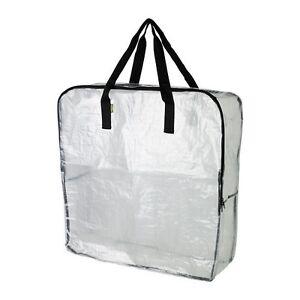 Image is loading IKEA-DIMPA-Large-Plastic-Strong-Storage-Zip-Bag-  sc 1 st  eBay & IKEA DIMPA Large Plastic Strong Storage Zip Bag For Blanket Duvet ...