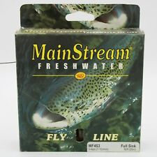 Rio Mainstream Full Sink Fly Line Wf4s Type 3 Brown for sale online