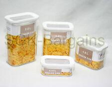 4pc in plastica Cucina Cibo Pasta Cereali RISO a grani Bean Contenitore Storage Box Set