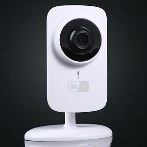 wifi mini home security wireless video baby monitor night. Black Bedroom Furniture Sets. Home Design Ideas