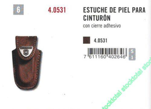 VICTORINOX ESTUCHE DE PIEL PARA CINTURON 40531 4.531