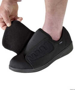 Men Extra Wide \u0026 Deep Shoes Slip