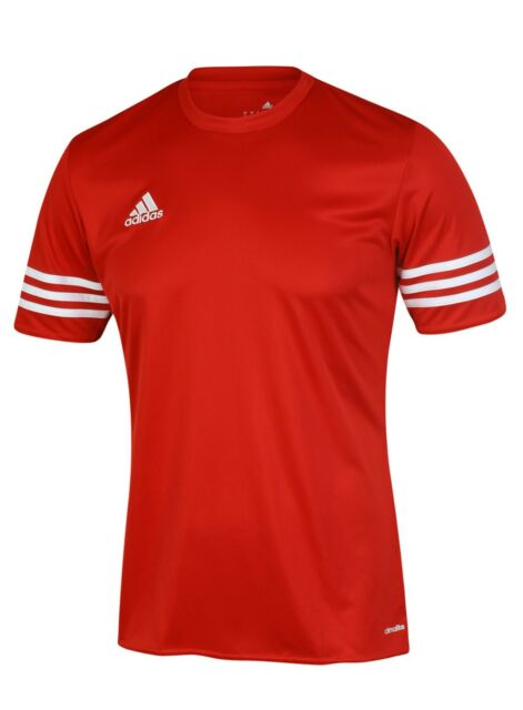 fc1b84deee96fe adidas Mens T Shirt Short Sleeve Top Entrada 14 Football Gym Sports ...