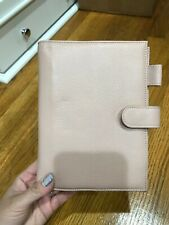 Personal Rings Organizer In Litchi Pink Pu Leather New