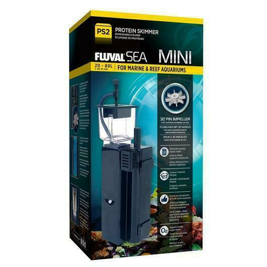FLUVAL SEA PS2 MINI PROTEIN SKIMMER EVO - 5 to 20 GALLONS AQUARIUM FILTER