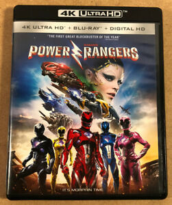 Saban-039-s-Power-Rangers-4k-Ultra-HD-Blu-Ray-2-Disc-Set-2017-NO-DIGITAL-NICE