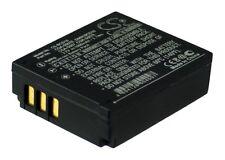 Premium Battery for Panasonic CGR-S007E, CGR-S007E/1B, Lumix DMC-TZ50, CGA-S007E