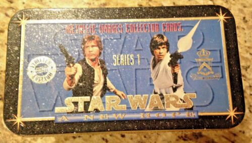 STAR WARS A NEW HOPE METALLIC IMAGE COLLECTOR CARDS LIMITED EDITION 251749,900