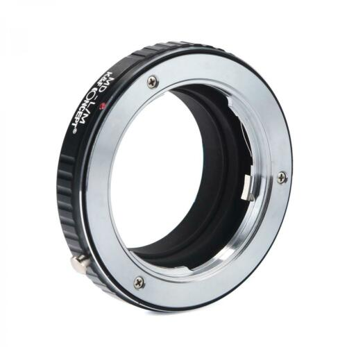 K/&f adaptador Minolta MD objetivamente a Leica m cámara m1 m2 m3 m4 m5 m6 m7 m8 mp MD
